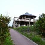 神の浜展望台と女瀬の崎展望台でサンセット