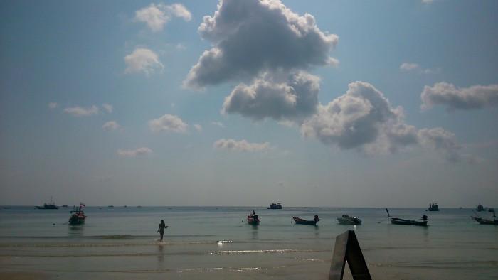 サイリービーチでのんびりと