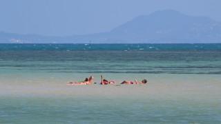 パンガン島のビーチを散策してみた。