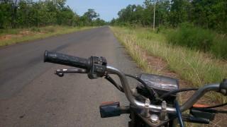 カンボジアを北周りでバイク旅に変更