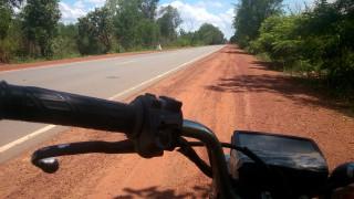 ついに事故ったよ on バイク旅