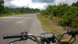 タイーカンボジア間の国境までのルート